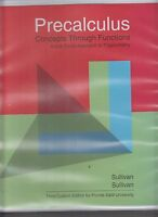 Precalculus Concepts Through Functions 3rd Custom Ed Florida A&m University