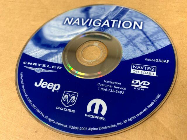 Chrysler Gps Map Update Canada CHRYSLER Mopar Jeep Dodge RAM AF Update Navigation GPS Map DVD