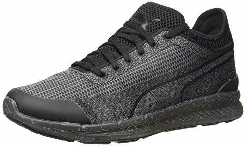 Puma Men's Ignite Woven Running shoes Black Size 12 D Brand New