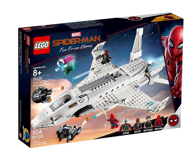 Lego Marvel Super Heroes 76130 Stark Jet et le drone  NOUVEAU