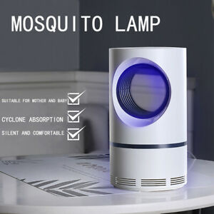Learned Electric Mosquito Killer Lamp Led Bug Zapper Anti Mosquito Killer Lamp Insect Trap Lamp Killer Home Living Room Pest Control Access Control