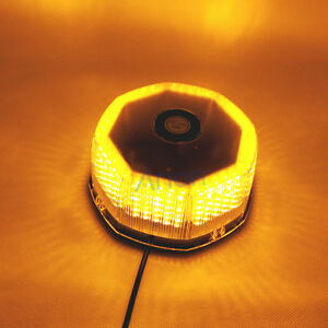 240 led amber magnetic strobe emergency warning mini. Black Bedroom Furniture Sets. Home Design Ideas