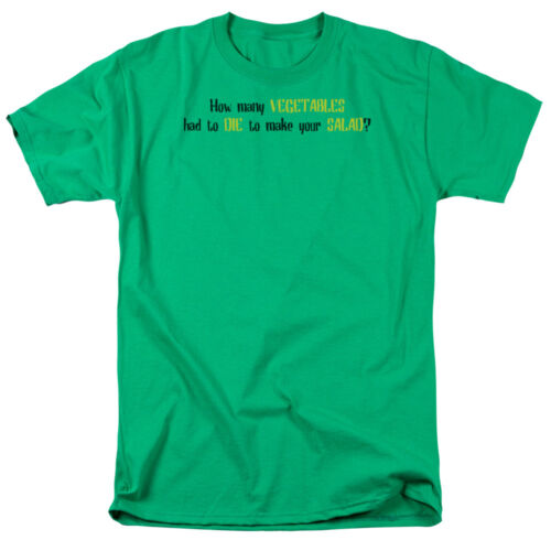 T-Shirt All Sizes HOW MANY VEGETABLES HAD TO DIE TO MAKE YOUR SALAD