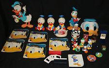 Donald Duck, Huey, Dewey Louie LOT of Books, Figures, Vintage Disney Memorabilia