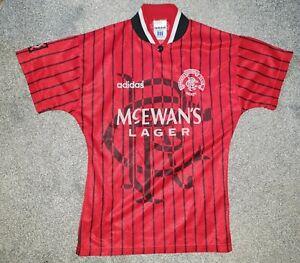 Rangers Vintage Football Shirt Jersey AWAY Adidas GENUINE release 1995 96 97