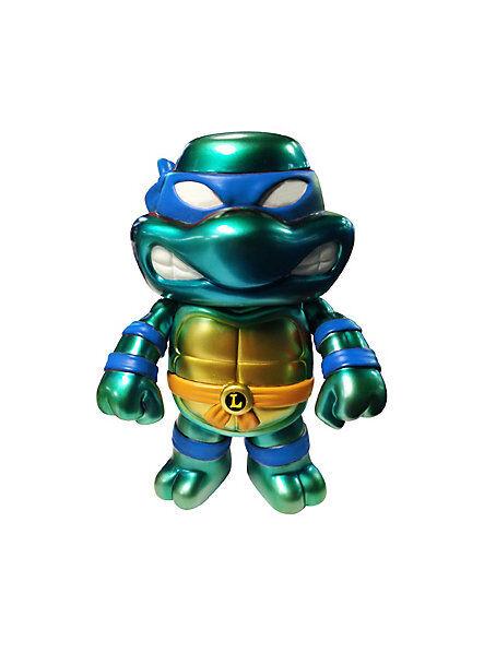 FUNKO Hikari Sofubi_Teenage Mutant Ninja Turtles__Metallic LEONARDO_1 of 500_MIB