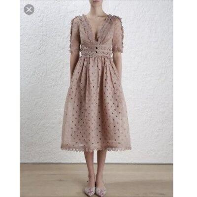 zimmermann Winsome tea Midi Dress 2
