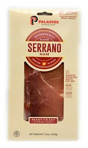 Serrano Ham All Natural 3.5oz by Palacios