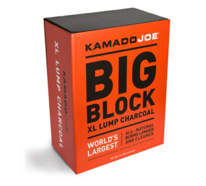Big Block Extra Large Lump Charcoal Natural Burns Longer Worlds Largest Robust