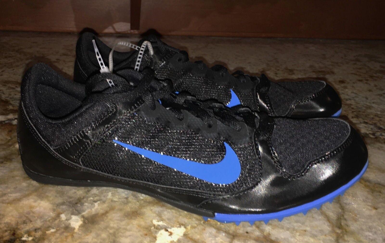 official photos 7204e d70cc Nike rival MD 7 Negro Negro Negro Foto Azul media distancia pista zapatos  nuevos Hombre 9