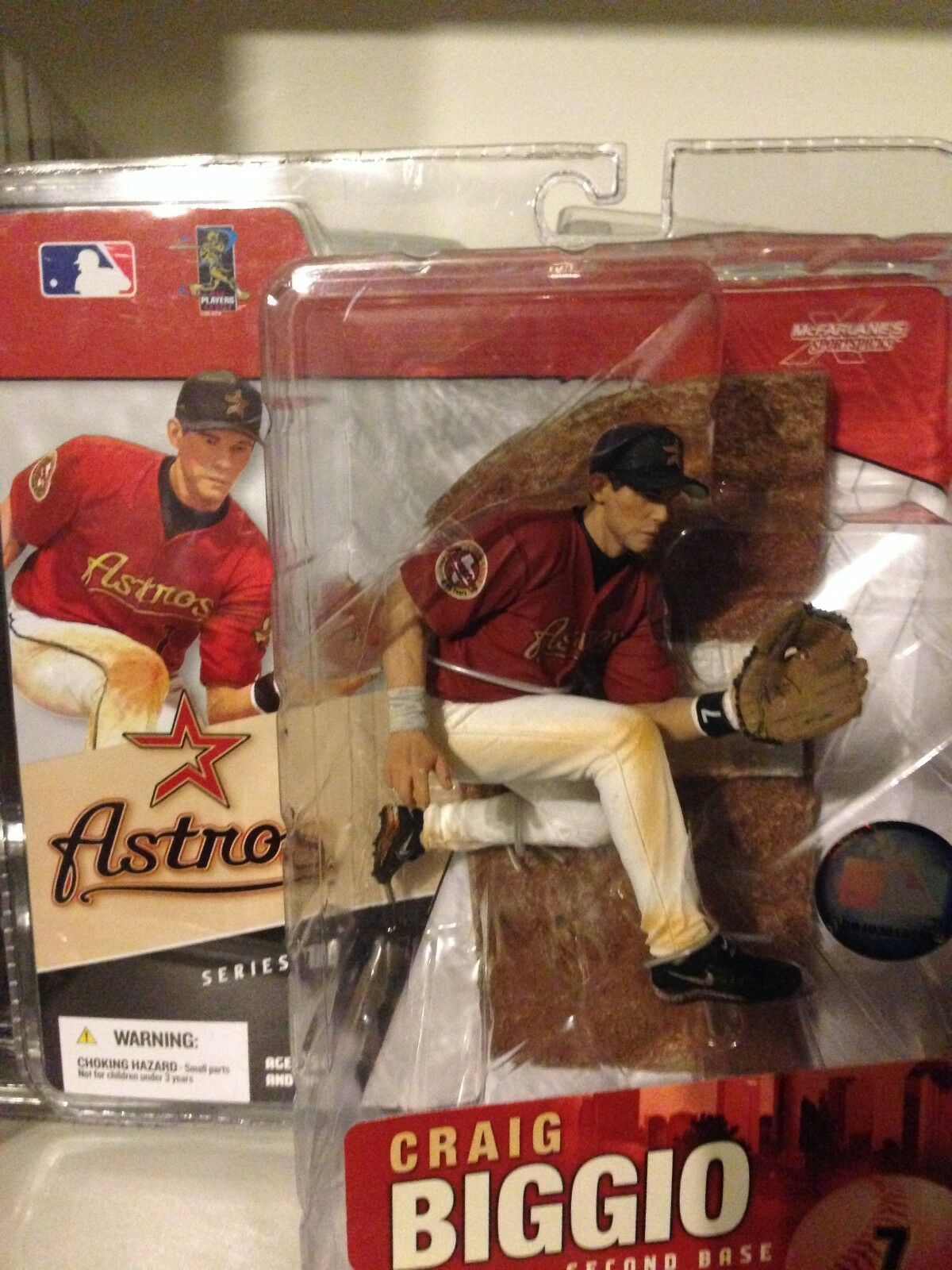 McFarlane MLB Series 16 - Craig Biggio Houston Astros Baseball HOF 3000 Hits