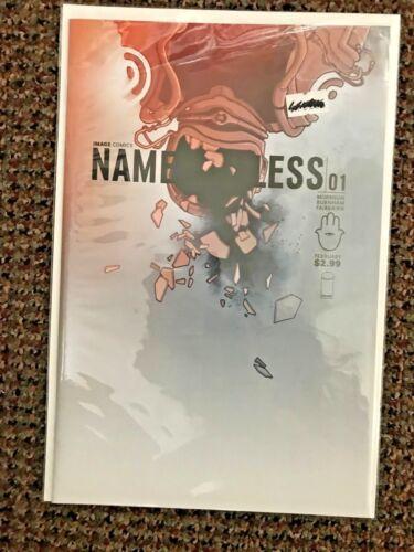 IMAGE COMICS 2015 Nameless #1 CBLDF VARIANT  JAMES GUNN  HTF