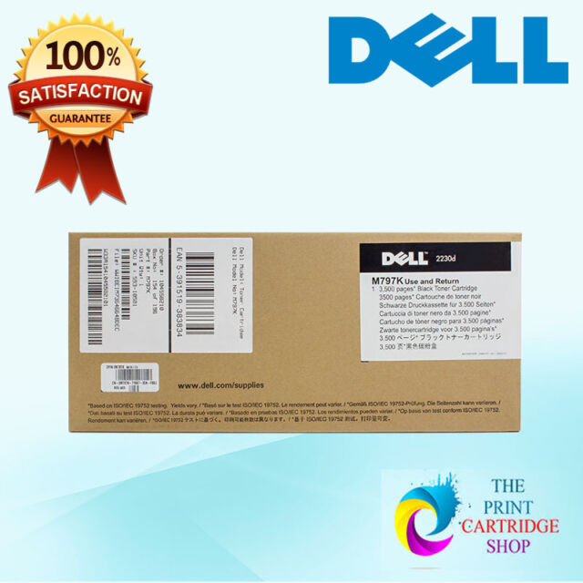 New & Original Dell M797K Black Toner Cartridge 2230 2230d 2230dn 3500 Pages