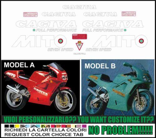 kit adesivi stickers compatibili  mito 1990