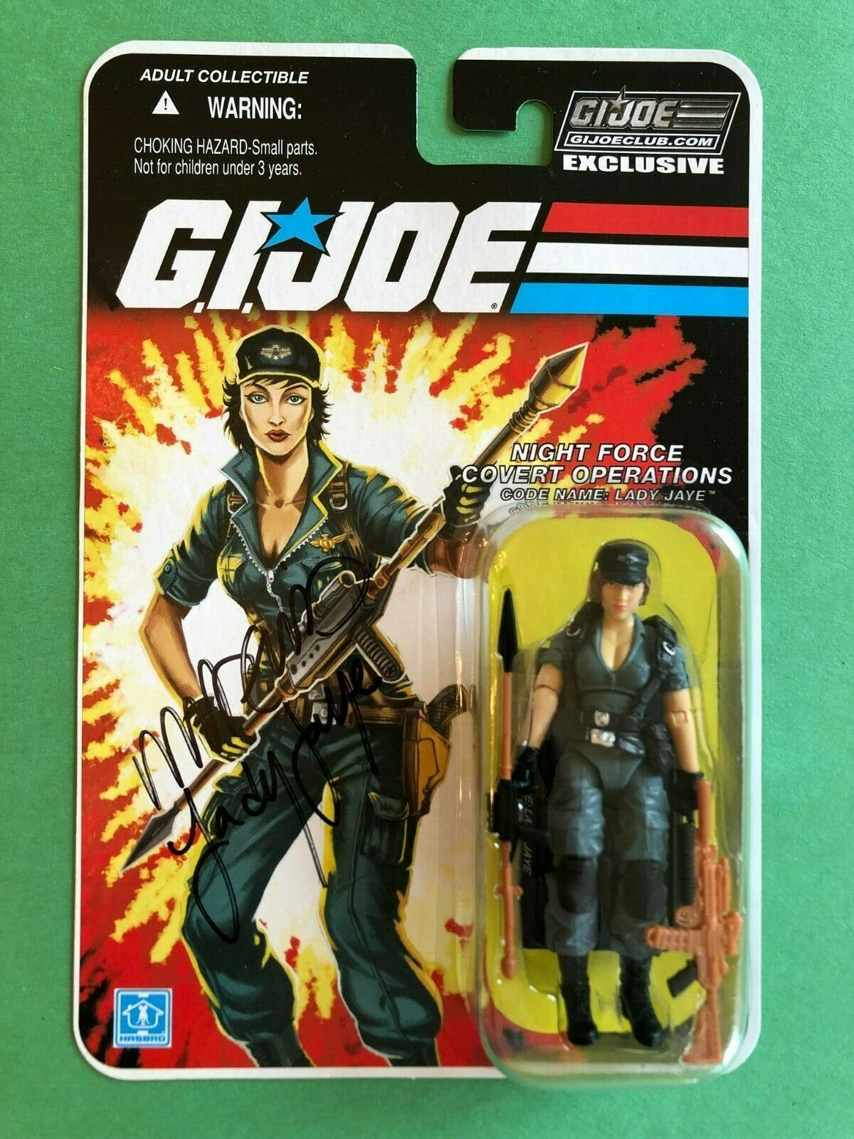 GI Joe Collectors Club Convention Joecon Exclusive Night Force Lady Jaye