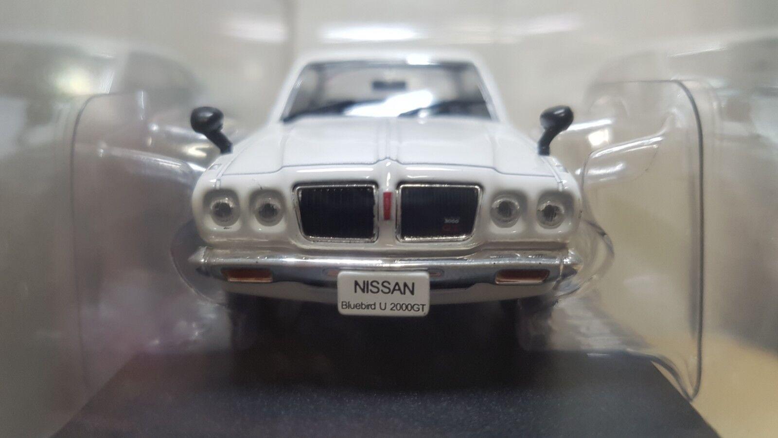 1 43 43 43 Norev 1973 NISSAN blueEBIRD U 2000GT WHITE diecast car model NEW 68f423