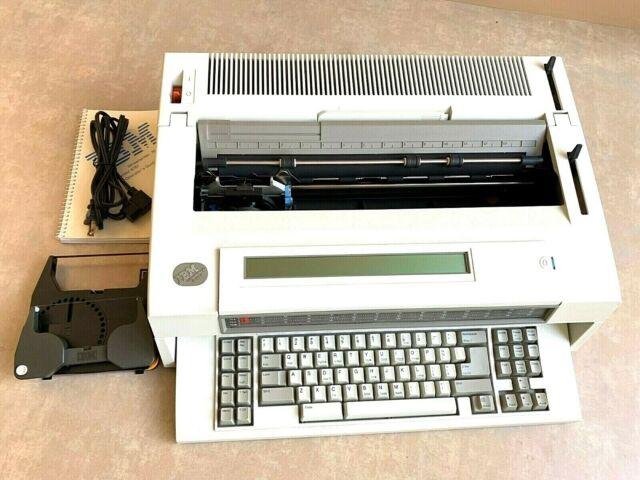 Office REFURBISHED IBM Lexmark Wheelwriter 3 Typewriter Wide ...