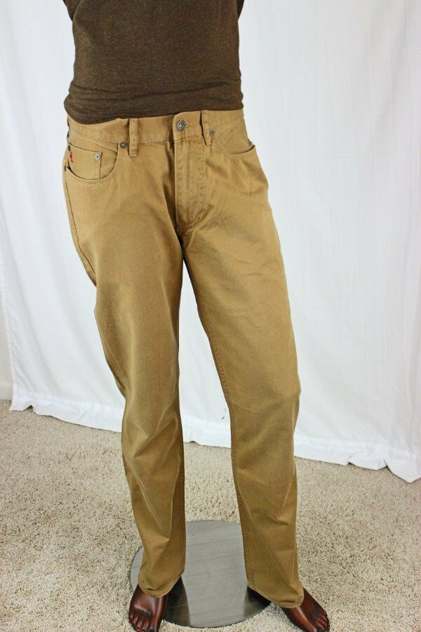 By Jeans 31x30 Lauren 650 Tan Straight Pantsnwt Polo Ralph Fit WD9EH2I