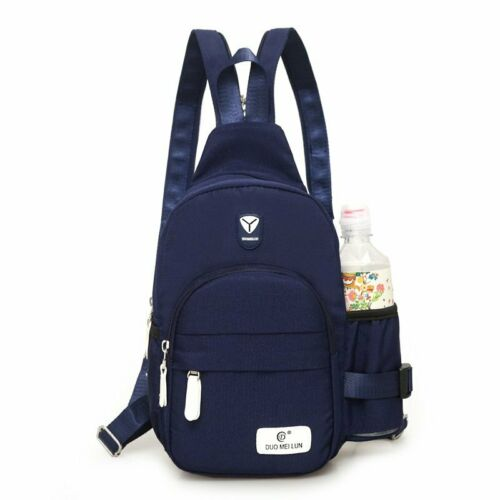 Men Women Crossbody Shoulder Dual-Purpose Chest Cycle Sling Bag Travel Backpack