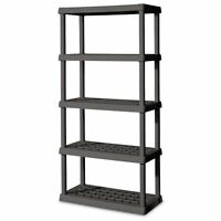Sterilite 01553V01 5 Shelf Unit (Gray)