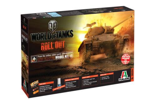 M24 Chaffee Neu Italeri 36504-1//35 World Of Tanks