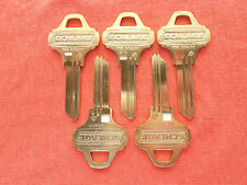 5 NEW ORIGINAL SCHLAGE EVEREST KEY BLANKS C145