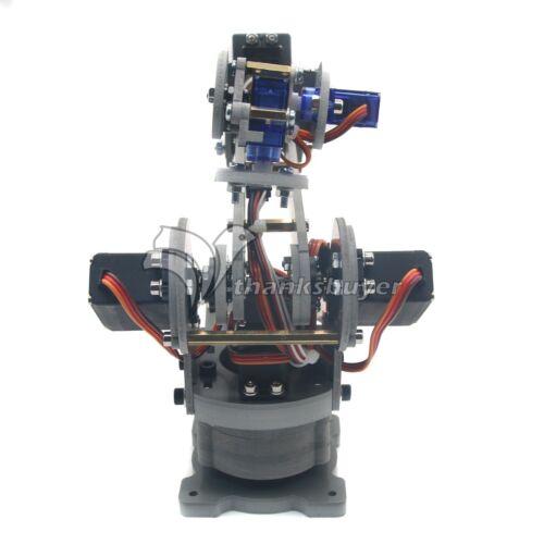 Assembled 6DOF Industrial Robot Mechanical Alloy Arduino Robotics w// Servos