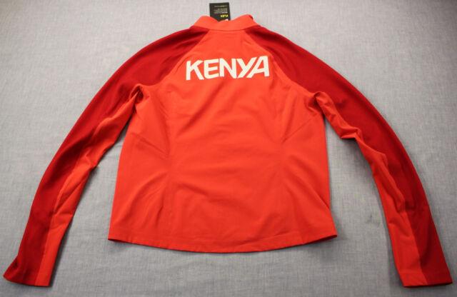60bb55eba868 Nike Flex Kenya Olympic Team S Red Reflective Training Running Jacket