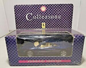 Shell-Collezione-Diecast-Ferrari-288-Gto-Azul-Nuevo