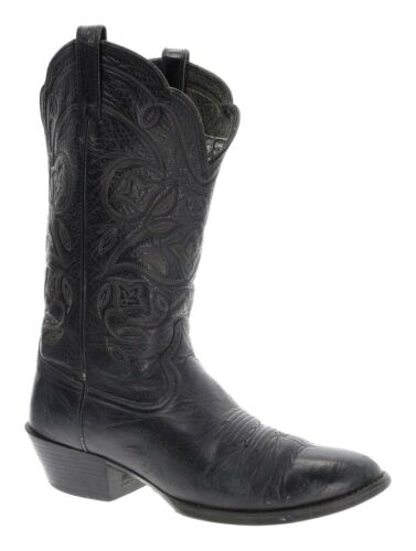 ARIAT Cowboy Boots 8.5 B Womens Black Leather WEST