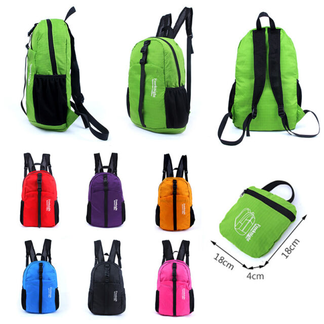 Large Women's Men's Backpack Waterproof Outdoor Sports Rucksack Shoulder Bag 30L