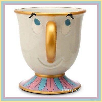 Disney Beauty And The Beast Chip Coffee Mug Tea Cup Mrs Potts Son Belle Friend