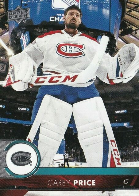 2017/18 UPPER DECK SERIES 1 BASE CARD CAREY PRICE #102 NEW COMBINE SHIPPING
