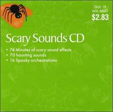 Scary Sounds CD by Various Artists (CD, Wal-Mart) for sale
