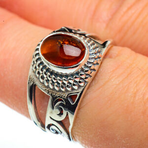 Citrine-925-Sterling-Silver-Ring-Size-7-5-Ana-Co-Jewelry-R45554F