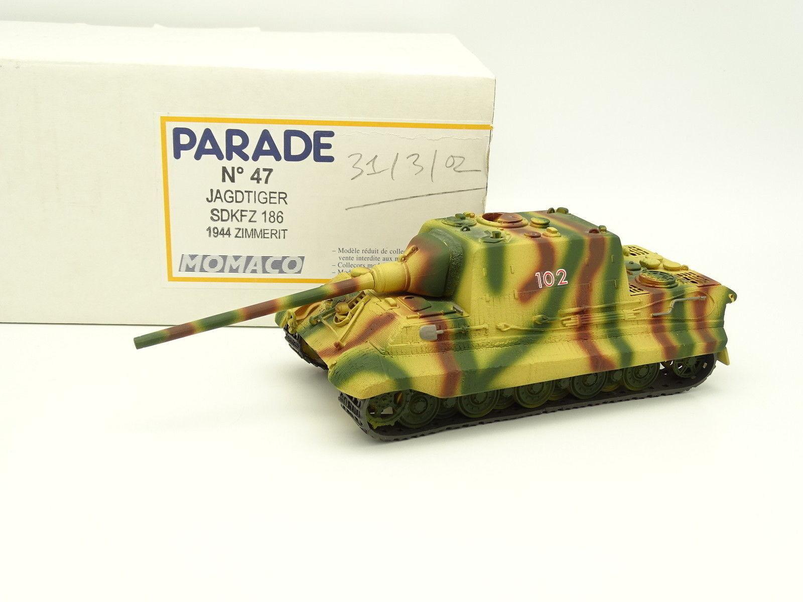 Parade Militaire Armée 1 50 - Char Tank Jagdtiger SDKFZ 186 1944 Zimmerit