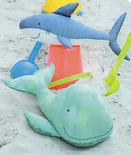 LANDLUBBERS - Sewing Craft PATTERN - Shark Whale Soft Toy Felt Doll Bear Bird