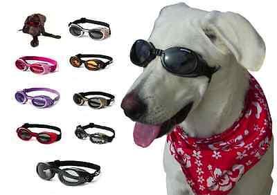 Doggles ILS Dog Goggles UV Sunglasses ALL SIZES Eye Protection Lens Shades New
