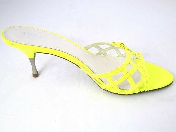 GUESS donna by marcaino flstr 2pat3 [TG. 36] da donna GUESS in pelle fashion-Sandalo giallo NUOVO  OVP 6697d5
