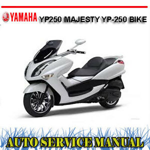 yamaha yp250 majesty yp 250 bike workshop service repair manual rh ebay com au yamaha majesty 250 service manual yamaha majesty 400 service manual