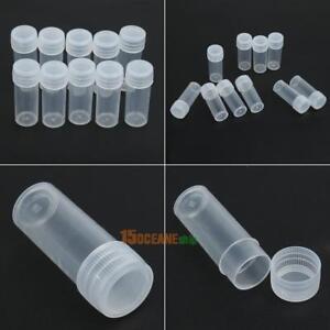 50Pcs-Transparent-Plastikflasche-5ml-Leerflasche-Kunststoffflasche-PE-Flaschen