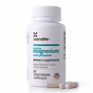 Xtendlife Marine Magnesium w/Potassium - 60 Vegetarian Capsules