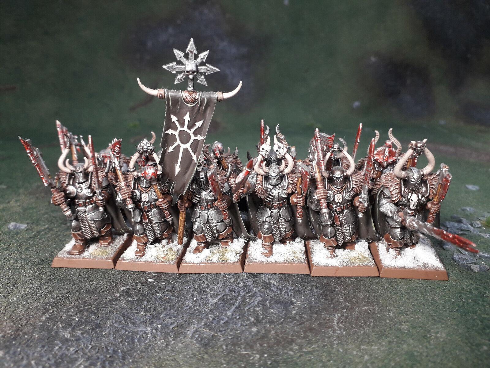 AOS (Warhammer) Chaos Warriors RegiSiet