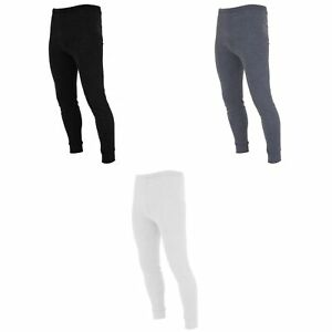 FLOSO-Sous-pantalon-thermique-en-viscose-Homme-S-XL-3-couleurs-THERM106