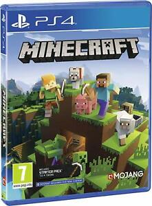 NUOVO-E-SIGILLATO-Minecraft-Bedrock-Sony-Playstation-4-PS4-Gioco