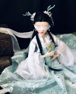 60cm-BJD-Doll-Puppe-1-3-Kugelgelenk-Maedchen-Mit-Wechselbare-Augen-Kleidung-Girl