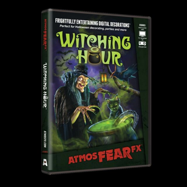 WITCHING HOUR AtmosFEARfx Digital Halloween Video Projection Decorations & Props