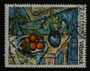 Timbre poste. France. n°1901. Peinture. Maurice de Vlanminck