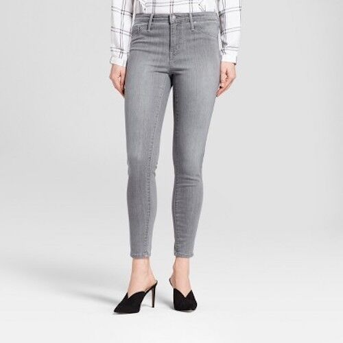 Gray Size 14 Regular by Mossimo Women/'s Jeans High Rise Jeggings