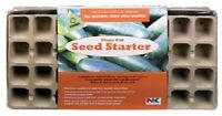 12 - Plantation Products 36 Cell Plant Seed Starter Tray Greenhouse Dome Ft36hfb